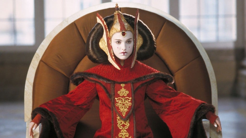 Padmé in The Phantom Menace, as she regally owns some bitchass senators.